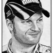 Dale Earnhardt Jr In 2009 Poster
