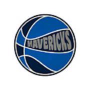Dallas Mavericks Retro Shirt Poster