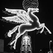 Dallas Pegasus Bw 121517 Poster