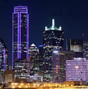 Dallas Purple Night 71417 Poster