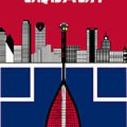 Dallas Squash T-shirt-1 Poster