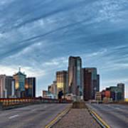 Dallas View At Dusk Poster