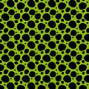 Dalmatian  Black Pattern 09-p0173 Poster
