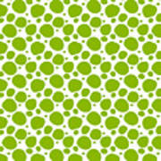 Dalmatian Pattern With A White Background 09-p0173 Poster