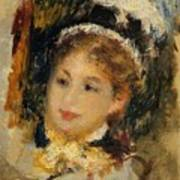 Dame En Toilette De Ville 1875 Poster