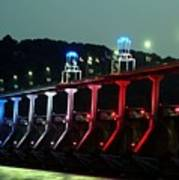 Damm River Bridge Poster