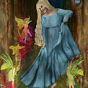 Dance Of The Fairies Poster by Sydne Archambault