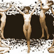 Dance Of The Seven Nudes Poster
