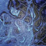 Dancer In Blue Poster