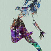 Dancer Watercolor Poster