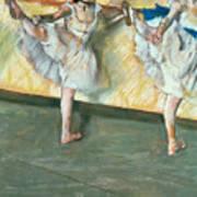 Dancers At The Bar Poster