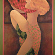 Dancers Poster by Leslie Marcus