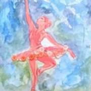 Dancing Ballerina Poster
