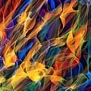 Dancing Flames Poster