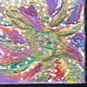 Dancing Flower Blossom Poster