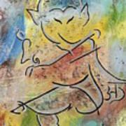 Dancing Ganesha Poster