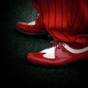 Dancing In Retro  Poster by Steven Digman