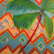 Dancing Palm Poster