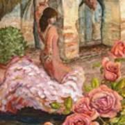 Dancing Rose Poster