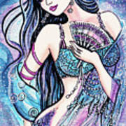 Dancing With The Waves Poster