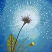 Dandy Dandelion Poster