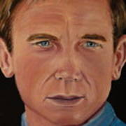 Daniel Craig Oil Painting Poster