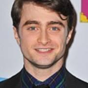 Daniel Radcliffe At Arrivals For Only Poster by Everett