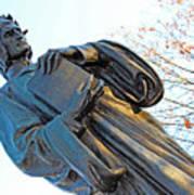 Dante In Meridian Hill Park Poster
