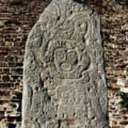 Danzantes Stone Poster