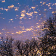 Dappled Sunset-1548 Poster