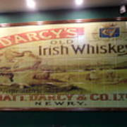 D'arcy's Old Irish Whiskey Poster
