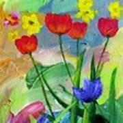 Daria's Flowers Poster