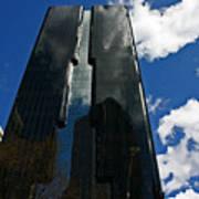 Dark Glossy Building Poster