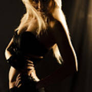 Dark Mysterious Dancer Poster