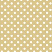 Dark Olive Polka Dots Poster