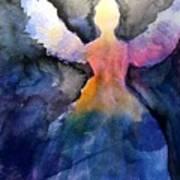 Dark Skies Angel Poster