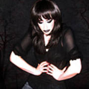 Dark Winter - Self Portrait Poster