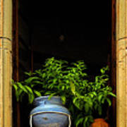 Darkened Window Poster
