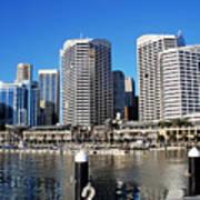 Darling Harbour Sydney Australia Poster