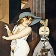 Daum Marries Her Pedantic Automaton George Poster