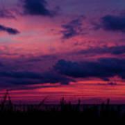 Dauphin Island Sunset #4 Poster