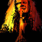 Dave Mustaine Poster
