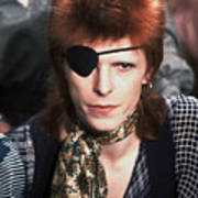 David Bowie 1974 Poster