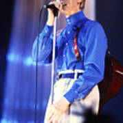 David Bowie 1984 Poster