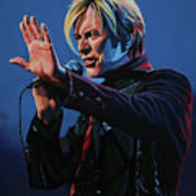 David Bowie Live Painting Poster
