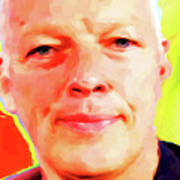 David Gilmour # 001 Nixo Poster