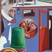 Davis Creek Boats Poster