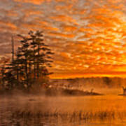 Dawn At Oakfield Provincial Park Poster