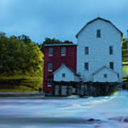 Dawn At Phelps Mill Poster