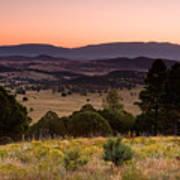 Dawn Near Ruidoso New Mexico Poster